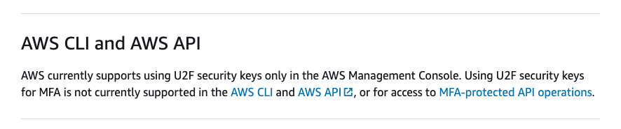 Say it ain't so, AWS